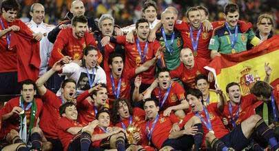 西班牙1-0荷兰精选 斗牛士首夺世界杯