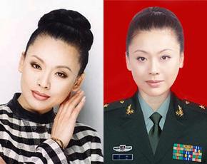中国现役最美丽的女将军