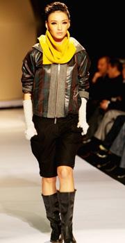 KAVON 卡汶时装发布会,2010秋冬,秀场,模特