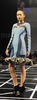 OZZO欧尼迩时装发布会,2010秋冬,秀场,模特