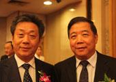 中汽协秘书长董扬与中国汽车工程学会秘书长付于武