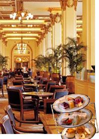半岛酒店大堂茶座:声名远播的经典下午茶