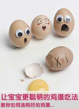 让宝宝更聪明的鸡蛋吃法