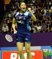 王琳,2010羽毛球世锦赛
