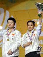 郑波,马晋,2010羽毛球世锦赛