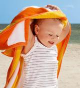宝宝若被晒伤治疗有小技巧