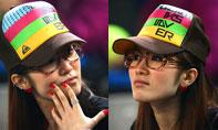 美女球迷,中网