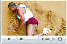 三级跳运动员最灵异一跳 钻入沙坑遭裁判活埋