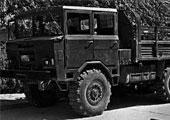1970年代后-1980年代初陕汽的五吨越野车投产并陆续装备部队