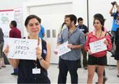 直击坎昆气候大会:像日本停止《京都议定书》示威