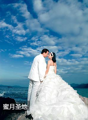 冬季婚礼的10个奇思妙想——蜜月圣地