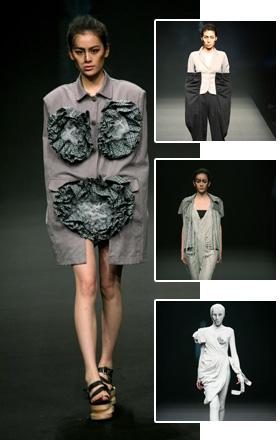 丁勇作品,模特,设计师,时尚