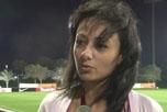 卡塔尔亚洲杯最美记者