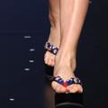 富有日本木屐风格的人字沙滩鞋