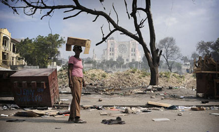 一等奖:海地震后