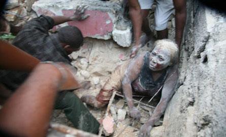 一等奖:海地地震拯救行动