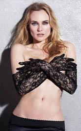 女星黛安·克鲁格为GQ全裸出镜