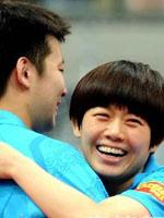 张超曹臻,2011世乒赛