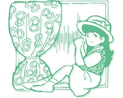 幼儿桃花剪纸步骤图解