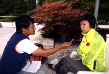 搜狐访张怡宁:看姚明退役想哭