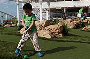 从小学习打高尔夫