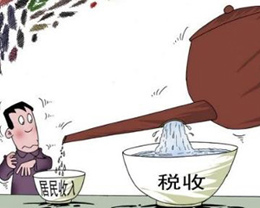 中国人的税负