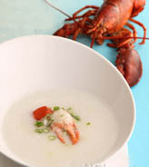 鲜蟹龙虾粥