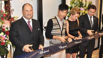 Chopard(萧邦)香港新店开幕,许志安