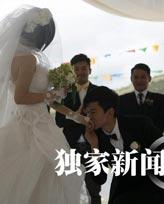 张杰向谢娜跪地求婚