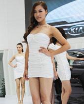 美女车模排排站