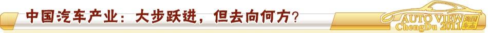 """中国汽车产业:""""大跃进""""之后将去向何方"""