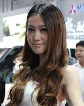 2011杭州车展美女车模