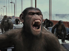 凯撒领导猿类对抗人类世界