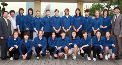 2011女排世界杯-韩国队-搜狐体育