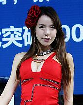 韩国大波红衣妹