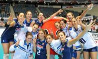 意大利队获得冠军