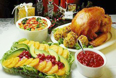 吃吃吃!感恩节吃大餐!