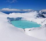 """新西兰滑雪,天堂般的景色"""""""