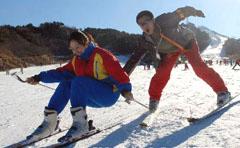 冬日眺望密云水库 云佛山滑雪场攻略