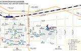 2012年行车路线与公交路线图