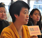 第二届《搜狐出国王牌留学服务团队评选》华东复赛,英国华威大学代表徐晓