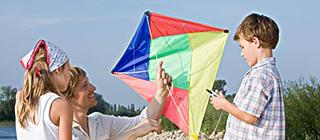 告诉孩子风筝飞上天3个基本条件