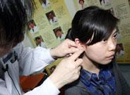 网友学习互动耳豆压穴
