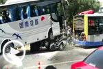 北京工体北路长虹桥西 重大交通事故