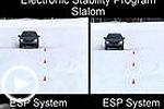 ESP作用明显! 对比开启或关闭下行驶姿态
