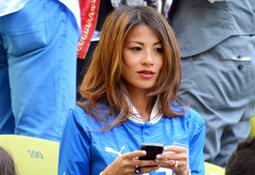 世界球迷一家亲 盘点欧洲杯上的东方面孔
