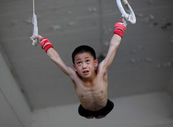 运动员没文化 中国运动员 奥运 体操训练 体校