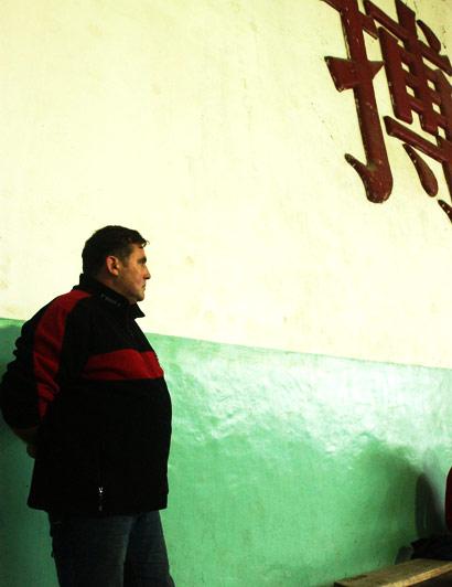 2008年11月7日,马克签约江西皮划艇队,出任总教练