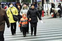第二十一条  一定要走人行道、人行横道