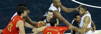 法国男篮惜败西班牙